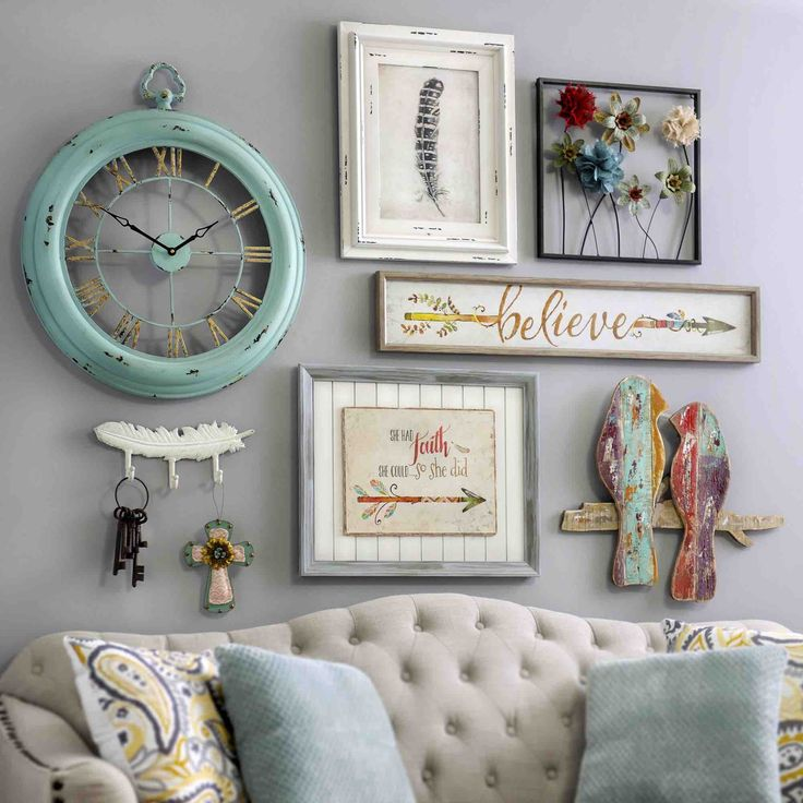 Best 20+ Shabby Chic Wall Decor ideas on Pinterest