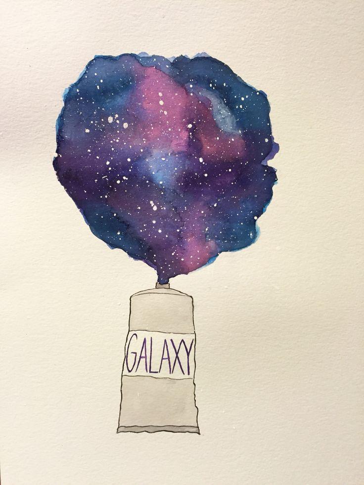 Falling Astronaut Iphone Wallpaper 25 Best Ideas About Watercolor Galaxy On Pinterest