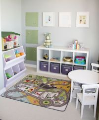 ~Toy Room Organisation~ Expedit units or units which hold ...