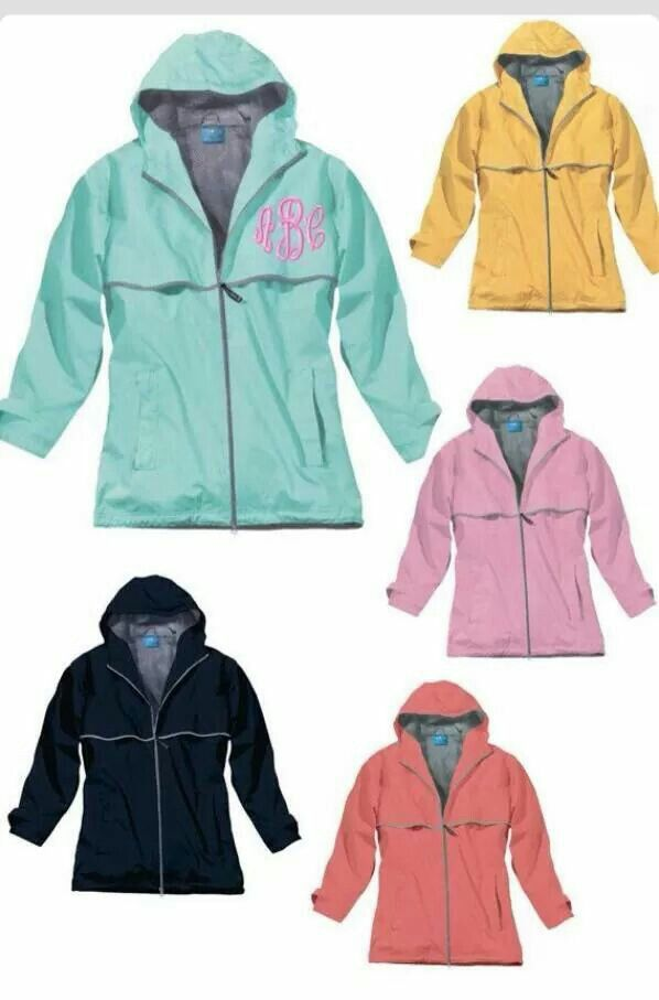 monogrammed preppy full zip hooded sweatshirt