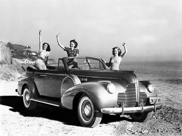 Vintage Pin Up Girl Wallpaper Buick Model 81c Phaeton 1940 Cars Pinterest Models