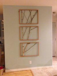 Framed Birch Tree Wall Art!!! | Do it yourself 2 ...