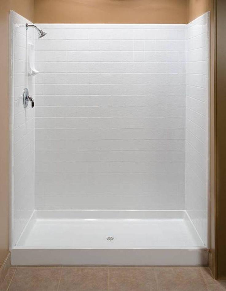 25+ best ideas about Fiberglass shower enclosures on