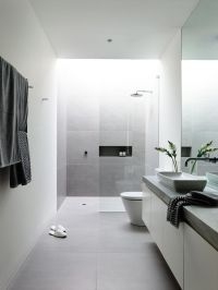 Best 25+ Grey white bathrooms ideas on Pinterest   White ...