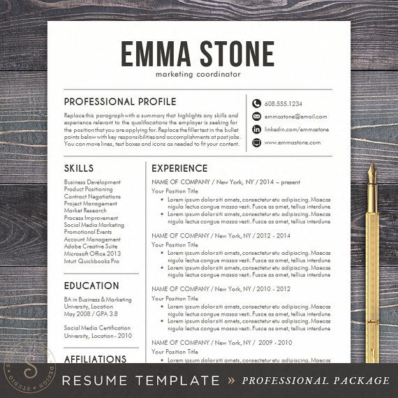 100 Free Resume Templates Psd Word Utemplates 25 Best Ideas About Professional Resume Template On
