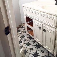 Vintage look bathroom floor tile - Star Ceramic Wall and ...