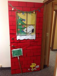Santa Door & I Did This For My Office\u0027s Christmas ...