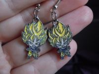 Coupon code DBZROX for 15% OFF! Goku Earrings Dragonball Z ...