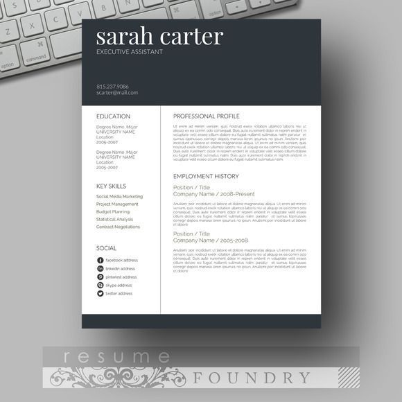 most eye catching resume templates