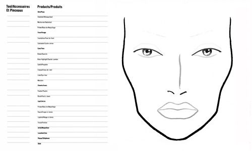 Mac Makeup Template - Mugeek Vidalondon - eye chart template