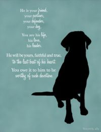 Custom Dog Quote Wall Art Print - Dog Quote - Pet Quotes ...