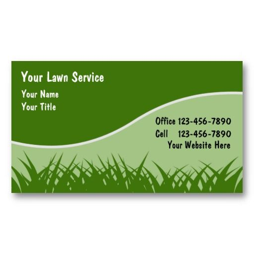 logos for lawn care business