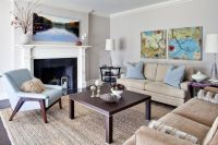 Decor to match BM Revere Pewter | Living Room Ideas ...
