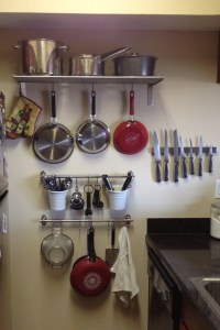 IKEA kitchen wall storage | D's small apt ideas ...