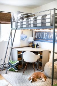 Best 25+ Loft bed desk ideas on Pinterest