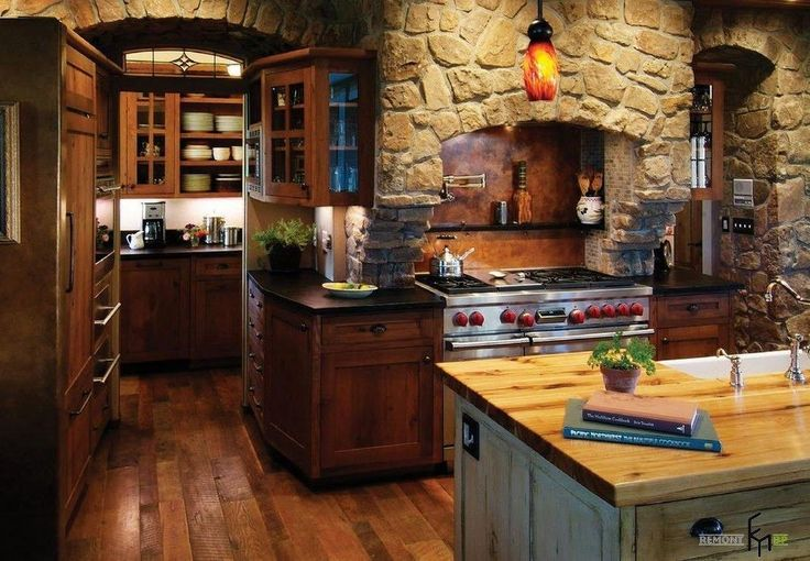 Images Of Rustic Mahogany Cabinets In Kitchens 78 Best Ideas About Wooden Kitchen Cabinets On Pinterest