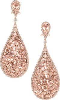 Best 25+ Rose gold earrings ideas on Pinterest   Rose gold ...