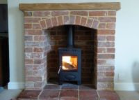 25+ best ideas about Red brick fireplaces on Pinterest ...