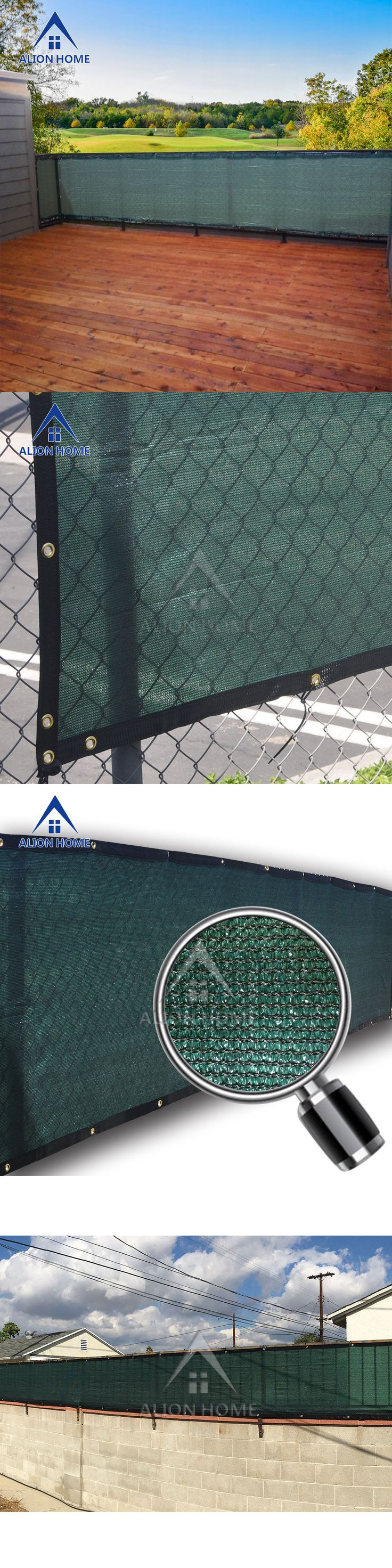 Privacy screens windscreens 180991 alion home custom sized patio fence privacy screen