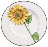 Villeroy & Boch Flora Sunflower Design Dinner Plate by ...