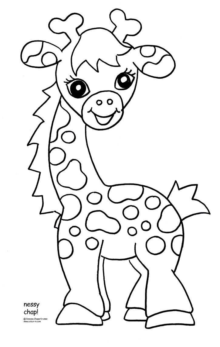 Childrens animal colouring pages - Download