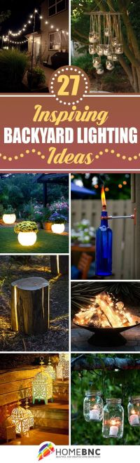 25+ best ideas about Outdoor patio lighting on Pinterest