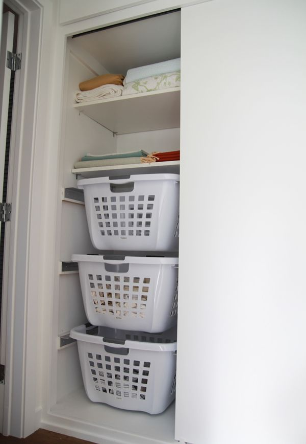How To Organize Kitchen Cabinets What To Put Where Diy Hanging Laundry Baskets. First, They Be In Different