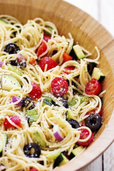 25+ best ideas about Spaghetti salad on Pinterest
