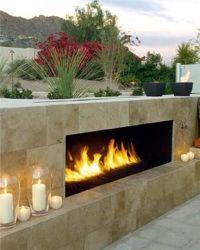 Best 25+ Modern outdoor fireplace ideas on Pinterest ...