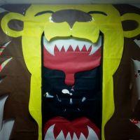 Lion homecoming door decoration | Classroom door ...