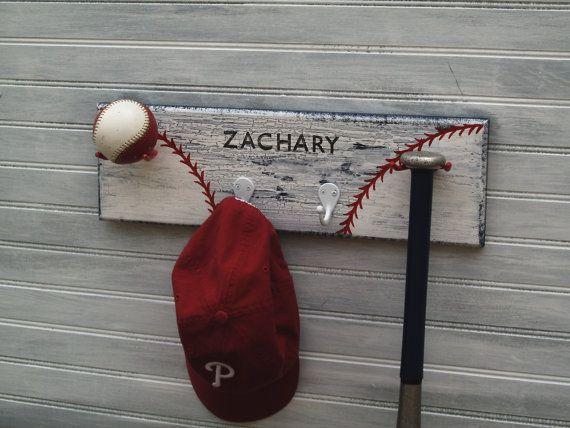 Baseball Bat Hat Rack Woodworking Projects Plans