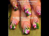 Best 25+ Tropical flower nails ideas on Pinterest ...