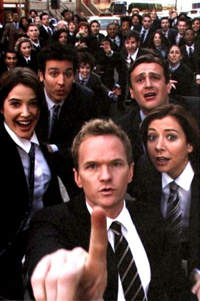 HIMYM. Girls vs Suits. Nothing suits me like a suit by Barney Stinson | Movie and book ...