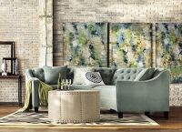 Riemann Curved Tufted Sectional - Sofas And Loveseats ...