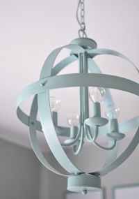 25+ best ideas about Spray Painted Chandelier on Pinterest ...
