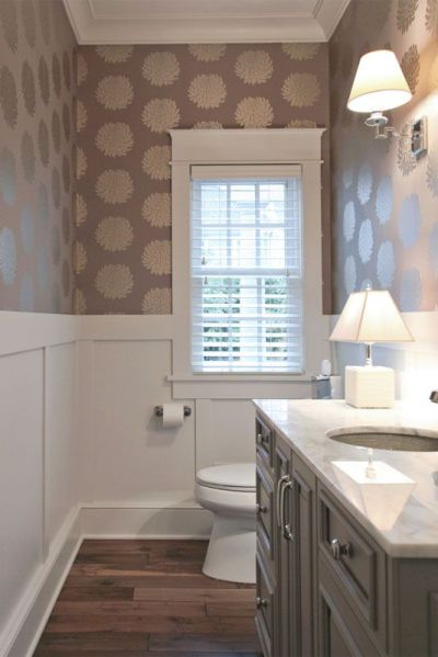 Best 25+ Small bathroom wallpaper ideas on Pinterest