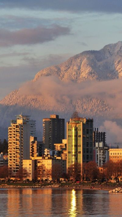 Golden Sunset - Vancouver | Travel: O Canada♥ | Pinterest | Canada, Home and Iphone 5 wallpaper