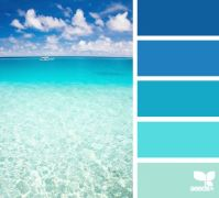 Create a mental vacation with paint colors inspired by the ...