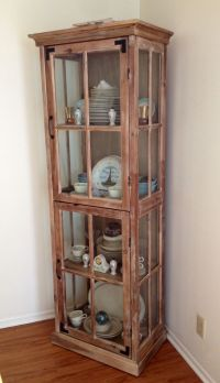 Cost Plus World Market curio cabinet used as china hutch ...