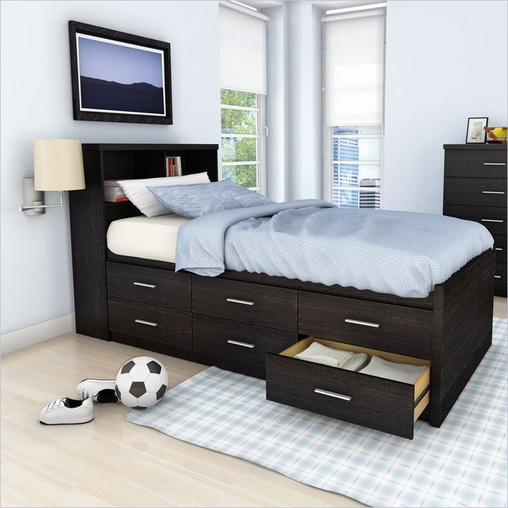 Twin Bed Frame With Storage 17 Best Ideas About Bed Frame Storage On Pinterest | Diy