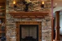 Frank Lloyd Wright Inspired Residence- Rustic Stone ...