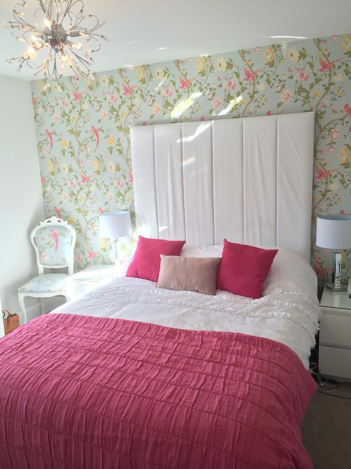 Duck Egg Wallpaper Bedroom Ideas My Bedroom Laura Ashley Birds Summer Palace Duck Egg Pink