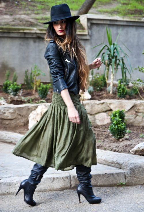 How To Wear A Long Skirt Style Guide How To Wear Maxi