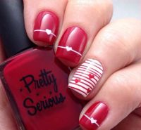 25+ Best Ideas about Red Nail Designs on Pinterest