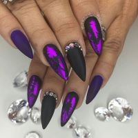 25+ best ideas about Purple Nail Designs on Pinterest ...
