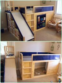25+ best ideas about Playhouse bed on Pinterest | Cabin ...