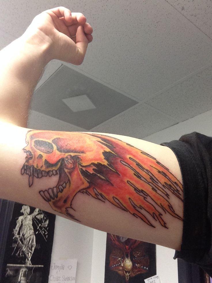 Steelers Wallpaper Hd Metallica Flaming Skull Tattoo Cool Tattoos Pinterest