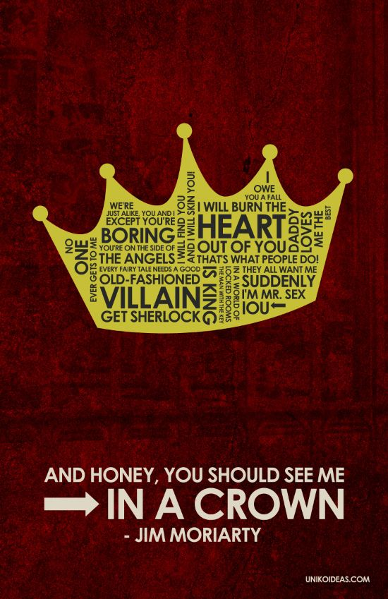 Sherlock Wallpaper Quote Bbc Sherlock Jim Moriarty Quote Poster It S Geeky It