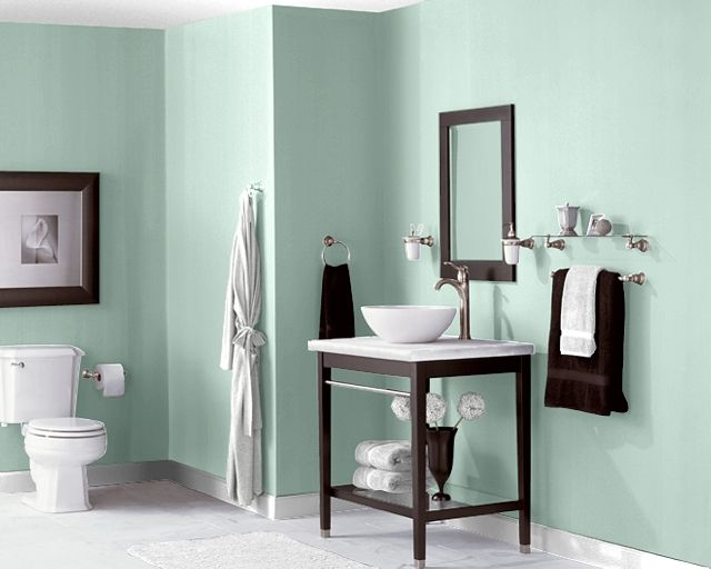 1000+ Ideas About Green Bathroom Colors On Pinterest | Bathroom