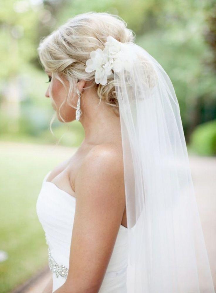 25+ best ideas about Veil Hairstyles on Pinterest